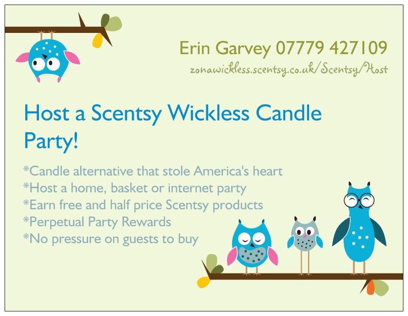 Host your own Scentsy Party – Scentsy Party Invitations